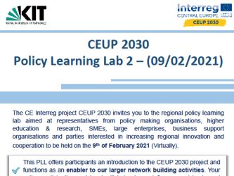 CEUP Policy Learning Lab 2 (2021-02-09)