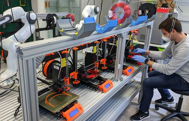 PIA Group: 3D-printing Covid-19